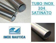 TUBO BARRA ACCIAIO INOX AISI 304 SPAZZOLATO  Ø10mm