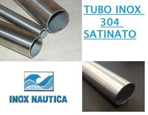 TUBO BARRA ACCIAIO INOX AISI 304 SPAZZOLATO  Ø6mm