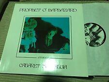 "PROPHET O'HAPHAZARD - CABARET NOSTALGIA 12"" MINI LP SYNTH WAVE GOTH"