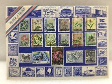 Iceland Stamps Floura Fauna Set Of 17