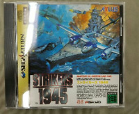 [Sega Saturn]  [Strikers 1945] Game Japan with tracking Good Condition!! USED