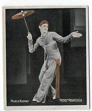 1930s German Dance Floors Of The World Tobacco card #15 Peter Pawlinin