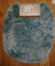 """Mohawk Home Spa 1' 4.5"""" x 1' 6.5"""" Toilet Lid Cover in Sea"""