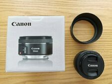 Canon EF 50 mm F/1.8 EF STM for Canon with hood and original box