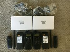 Lot Of 2 Motorola Xpr6550 Portable Radios Uhf Chargers Batteries All Accys