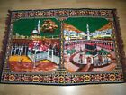 PRINT - WALL CARPET WITH KABAK PICTURE - 111X161 CM  good condition and solid