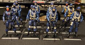 G I Joe 25th POC Cobra  Trooper/ Officer Mixed Lot Of 12. READ Description