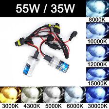 2X 55W/35W Xenon HID Replacement Bulbs H1 H3 H7 H8 H9 H11 9005 9006 HB3 HB4 881