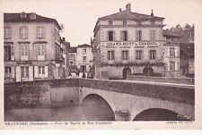 BRANTOME pont de barris et rue gambetta grand hôtel chabrol écrite 1944