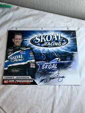Signed Tommy Johnson Jr Photo Don Prudhomme Skoal Racing NHRA Photo 8.5 X 11 100