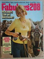 Fabulous 208 Magazine..19th.August 1972....VINTAGE COLLECTABLE MUSIC MAGAZINE.