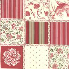 Moda FRENCH GENERAL FAVORITES Red 13600 11 By The Yard By French General