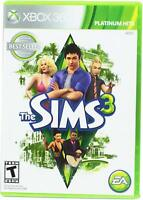 The Sims 3 - Platinum Hits [Xbox 360] - Brand New