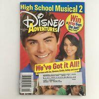 Disney Adventures Magazine September 2007 Zac Effron & Vanessa Hudgens, VG
