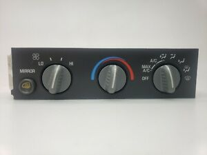 98 2007 CHEVY EXPRESS VAN A/C HEAT CLIMATE TEMPERATURE CONTROL W/ HEATED MIRROR