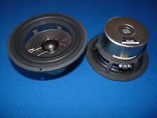 """Vienna Acoustics E-lec 4  Speaker Driver.Transparent 6.5"""" Mid/Low Woofer. 1 Pair"""