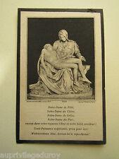 IMAGE d' AVIS MORTUAIRE : Marie-Paul Comte de la SELLE, 1924.