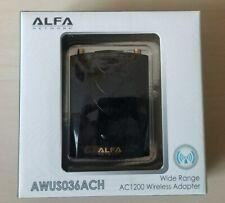 NEW Alfa AWUS036ACH 802.11ac AC1200 867 Mbps dual band Wi-Fi USB Adapter Range
