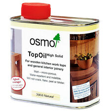 Osmo Top Oil 3068 Natural For Wooden Kitchen Work Tops- 0.5ltr tin