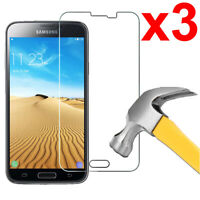 3x Case Friendly Tempered Glass Screen Protector for Samsung Galaxy S5 / S5 Neo