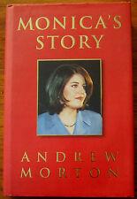 VGC-MONICA'S STORY-ANDREW MORTON-1999-HARDBACK BOOK+DJ-inc.PHOTOS