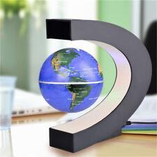 Magnetic Levitation Floating Globe Map Rotating World Globe Electronic LED US
