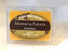 Mango and Papaya 2.5oz Soy Wax Melts Scent Fruit One Package Sugar Sweet Summer