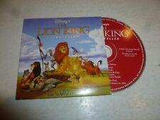 THE LION KING - Storyteller - UK 4-track CD - DJ Promo