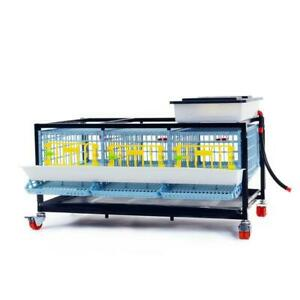 Quail Cage: 1 Layer (15 - 21 Quail) | Hygienic, Easy to Clean, Durable Plastic