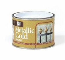 12 X Tins of 151 Metallic Gold Paint 180ml Home DIY