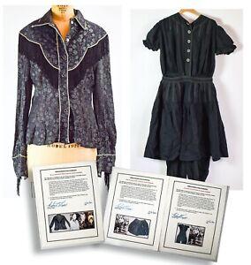 Complete 1950s Marie Windsor Screen Worn Western Costume  - NO RESERVE - DK93.1