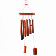 Bamboo Wind Chime Large Wooden Melody Garden Ornament Feng Shui Windchime 60CM