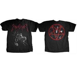EMPEROR RIDER BLACK METAL BAND ROCK MANIACS INFERNO MAYHEM MUSIC TEE SHIRT S-XL