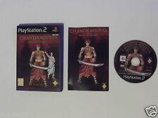 """Chandragupta warrior prince Pour PLAYSTATION 2 ont RY rare et difficile à trouver"""""""
