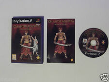 "Chandragupta warrior prince Pour PLAYSTATION 2 très rare"""