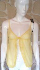 haut jaune neuf taille L marque Vanity Fair étiqueté à 49,90€