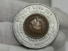 Encased 1903 Indian Head Penny State Bank of Michigan - Grand Rapids. #33