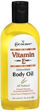 Cococare Vitamin E Body Oil 8.50 oz