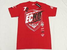 NWT NEW Mens Ecko Unltd T-Shirt MMA 72 Graphic Print Tee Red Urban Size S N122