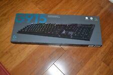 Logitech G915 Lightspeed Wireless RGB Gaming Keyboard GL clicky switch
