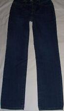 St.John's Bay Quality Apparel*Straight Leg Denim Jeans sz 8 Long Tall