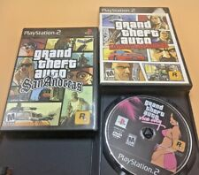 Grand Theft Auto 3 Games PS2  Liberty City Stories - Vice City  SanAndreas