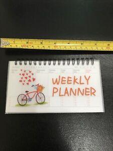 Weekly Planner Binder Book