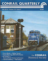 Conrail Quarterly: NEW Fall 2014 issue of The CONRAIL Historical Society