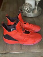 Nike Air Jordan XXXIII 33 Red Black Shoes AQ8830-600 Mens Size 17, New, No Box.