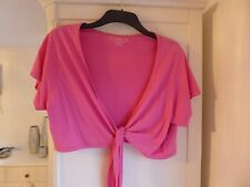Pretty Pink Top / Cardigan Size 20 from South