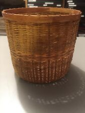 Vintage Sweetgrass Basket, Native American Indian ?, Hand Crafted ?