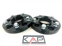 VW Volkswagen Amarok 5x120 - 20mm Alloy Hubcentric Wheel Spacers 65.1 BLACK