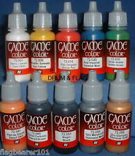 Vallejo Game Color Paint-Giochi Starter Set-Acrilico su base d'acqua 17ml (10)