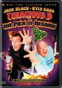 TENACIOUS D IN THE PICK OF DESTINY New Sealed DVD Jack Black Kyle Gass
